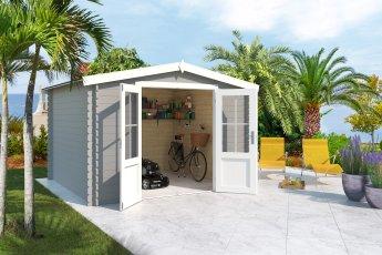 Gartenhaus Lasita Houston Lichtgrau