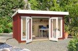 Gartenhaus Dorset 1 rot