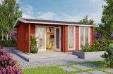 Gartenhaus Brighton 44 rot
