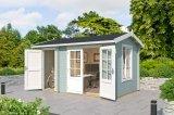 Gartenhaus Wrexham 1 gruen