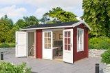 Gartenhaus Wrexham 1 rot