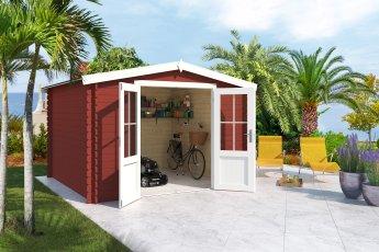 Gartenhaus Lasita Houston Schwedenrot