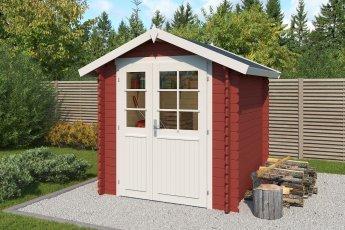 Gartenhaus Lasita Morava B Schwedenrot