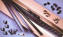 Kastenrinnensatz 2x3m (dunkelbraun)