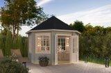 Gartenhaus Jamaica Lichtgrau gruen