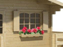 Blumenkasten Einzelfenster