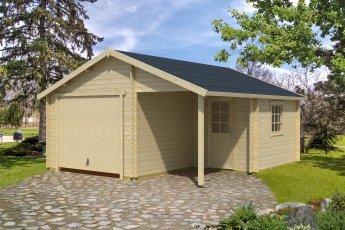 Gartenhaus Lasita Nevis mit Schwingtor